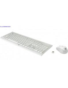 Juhtmevaba klaviatuur ja hiir HP 300 EST valge 2040