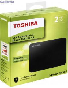 Vline kvaketas 2TB Toshiba Canvio Basics USB30 2165