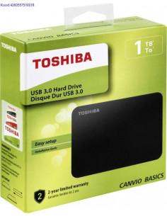 Vline kvaketas 1TB Toshiba Canvio Basics USB30 2166