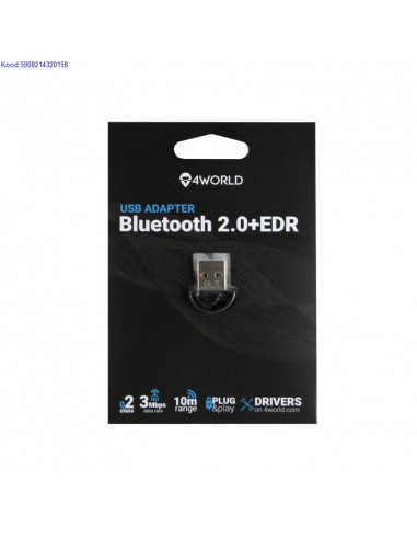 Bluetooth USB adapter 4World 2176