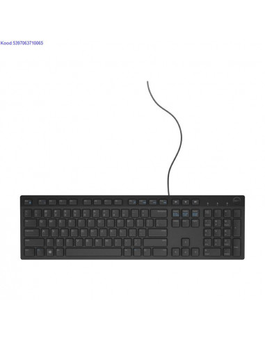 Klaviatuur Dell KB216 EST USB must 2219