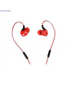 Krvaklapid mikrofoniga iBox S1 Sport punased nbid 2250