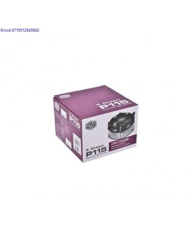Protsessori jahuti Cooler Master X Dream P115 Socket LGA 115011551156 234