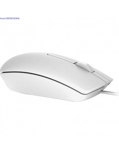 Optiline hiir Dell MS116 valge 2470