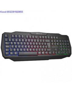 Klaviatuur XTRIKE ME KB302 ENRU 2476
