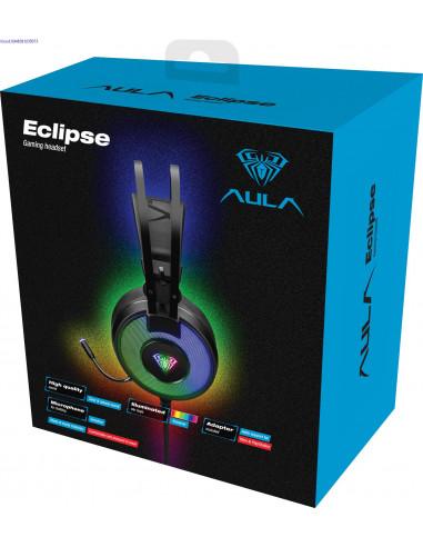 Krvaklapid mikrofoniga Aula Eclipse  2488
