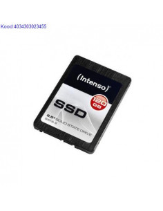 SSD Intenso 120GB SATA3 High 25 2540