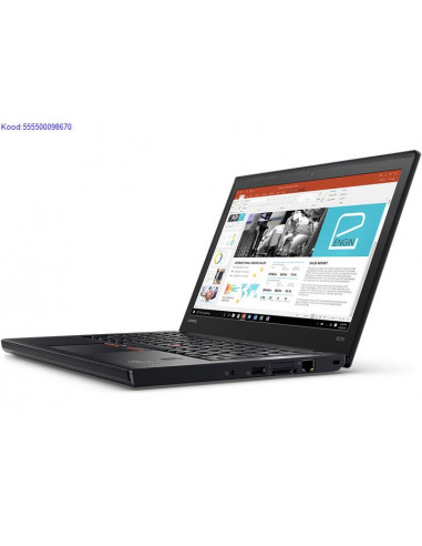 LENOVO ThinkPad X270 SSD kvakettaga 2567