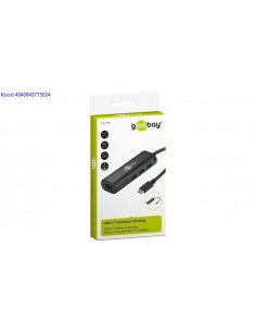 USB jagaja 4 porti USBC Multiport Docking Goobay 2568