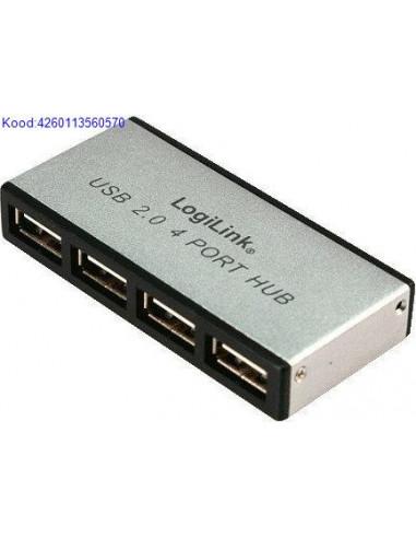 USBjagaja USB20 4porti Logilink  2569