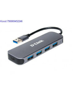 USB jagaja 4 porti USB30 DLink DUB1341 2570