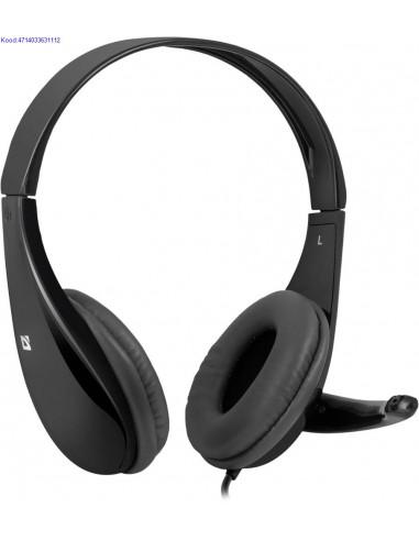 Krvaklapid mikrofoniga Defender Aura HN111 2606