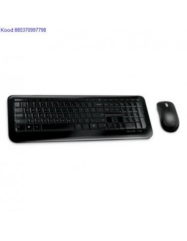 Juhtmevaba klaviatuur  hiir Microsoft ENRUS must 2637
