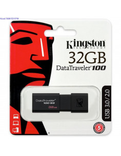 USB mlupulk Kingston DataTraveler100 32 GB must 2639
