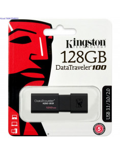 USB mlupulk Kingston DataTraveler100 128 GB must 2640
