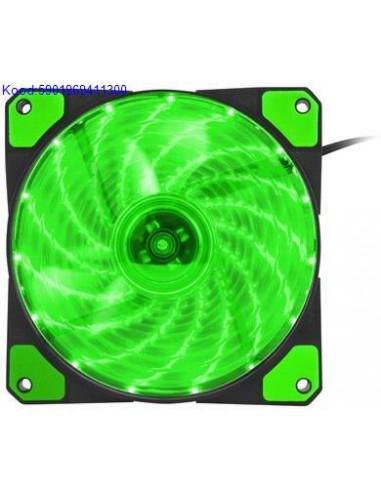 Korpuse ventilaator Natec Genesis Hydrion 120 Roheline  2674