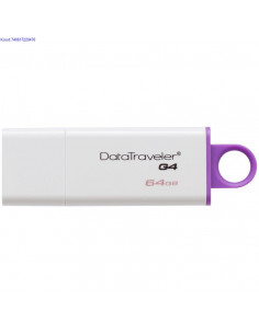 USB31 mlupulk 64 GB Kingston DataTraveler DTIG4 valge 2723