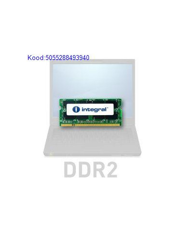 Mlu SODIMM 1GB DDR2 Intergal 800MHz CL6 300
