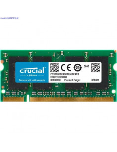 RAM SO-DIMM 2GB DDR2 800MHz...
