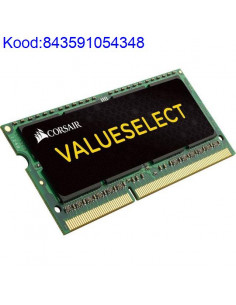 Mlu SODIMM 2GB DDR3 Corsair 1600MHz CL11 304