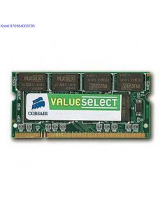 RAM SO-DIMM 1GB Corsair...
