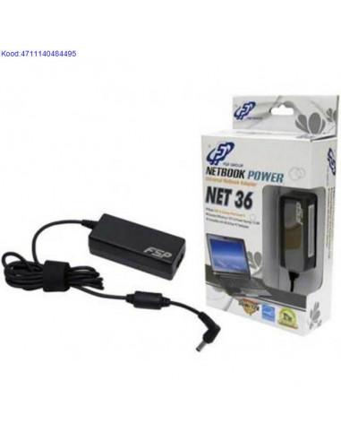 Slearvuti toiteplokk EEE PC Netbookidele FSP 36W12V universaalne 306