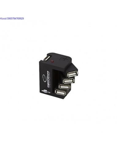 USB Hub Esperanza 4porti 348
