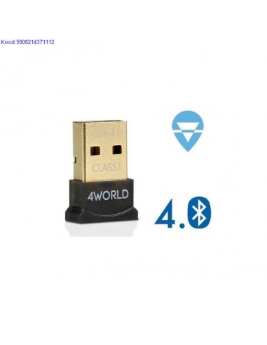 Bluetooth USB2.0 adapter 4World v4.0