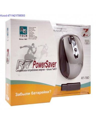 Juhtmevaba hiir A4TechR770D USB musthbe 361