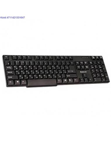 Keyboard Defender Accent KS-930 EST...