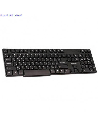 Kлавиатура Defender Акцент KS-930 EST...