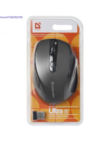 Wireless Optical Mouse Defender Ultra...