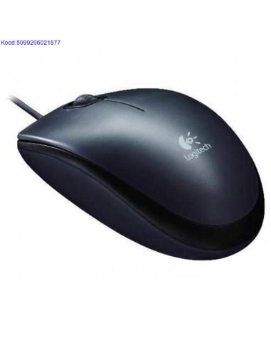 Optiline hiir Logitech M90 USB must 388