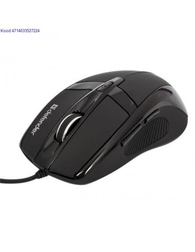 Optiline hiir Defender Warhead GM1300 USB 10002000dpi must 390