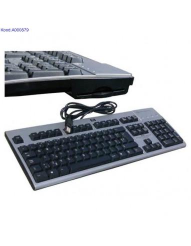 Hewlett Packard klaviatuur IDkaardi lugejaga kasutatud 414