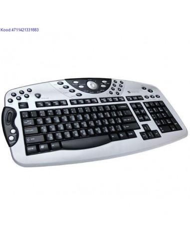 Klaviatuur Defender Luna KM2080 ENGRU USB 422