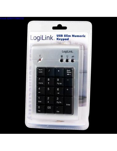 Numbriklaviatuur Logilink ArtID0008 USB hendusega 424