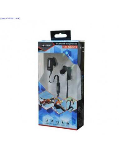 Bluetooth Stereo krvaklapid Xzero XH822BK mustad nbid 428