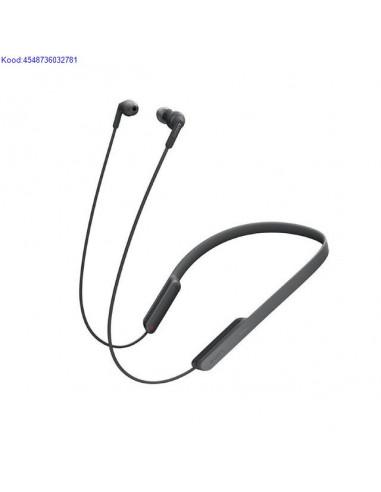 Bluetooth krvaklapid mikrofoniga Sony MDRXB70BT mustad nbid 439