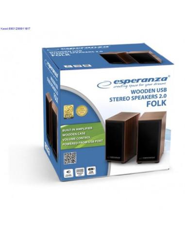 Klarid 20 Esperanza Folk Wooden EP122 USBtoide 447
