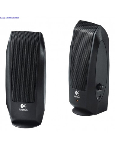Speakers 2.0 Logitech S-120 2x4W Black
