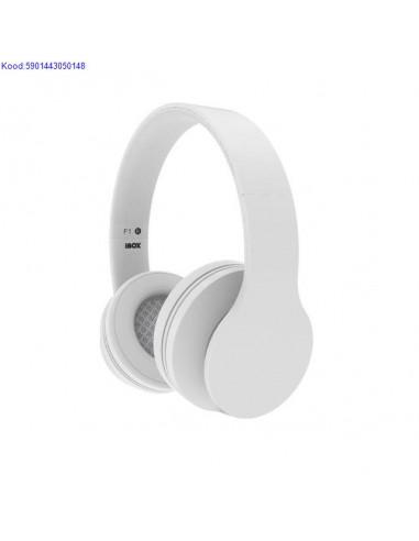 Наушники с микрофоном iBox F1 white