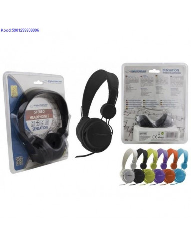 Headphones Esperanza Sensation EH148K
