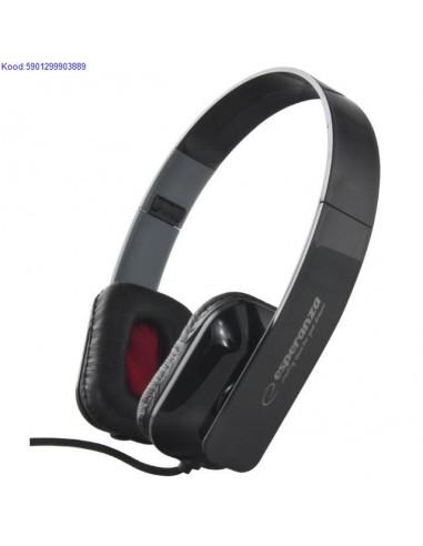 Headphones Esperanza Aruba EH143K