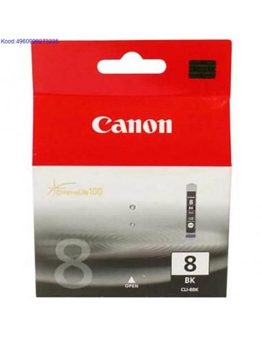 Tindikassett Canon CLI8 Black Originaal 493