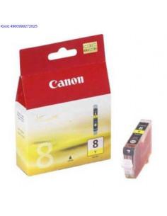 Tindikassett Canon CLI8 Yellow Originaal 496
