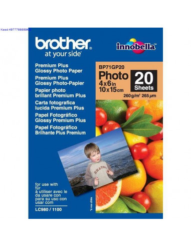 Photo Paper Brother 10x15cm