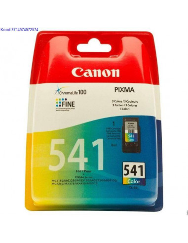 Inkjet Cartridge Canon CL-541 Color...