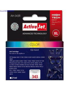 Tindikassett ActiveJet AH343S Color 15ml Analoog 534