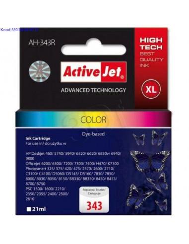 Tindikassett ActiveJet AH343S Color 15ml Analoog 534